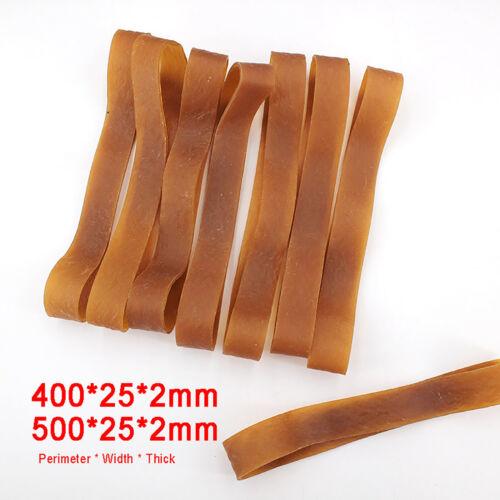 Umfang 400mm Breite 25mm 500g Braun Gummiringe Gummibänder 600mm Optional