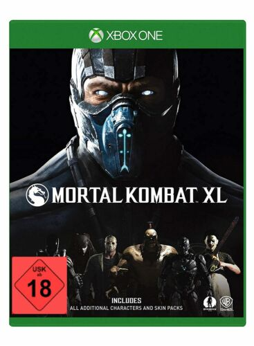 Xbox One Game Mortal Combat XL New
