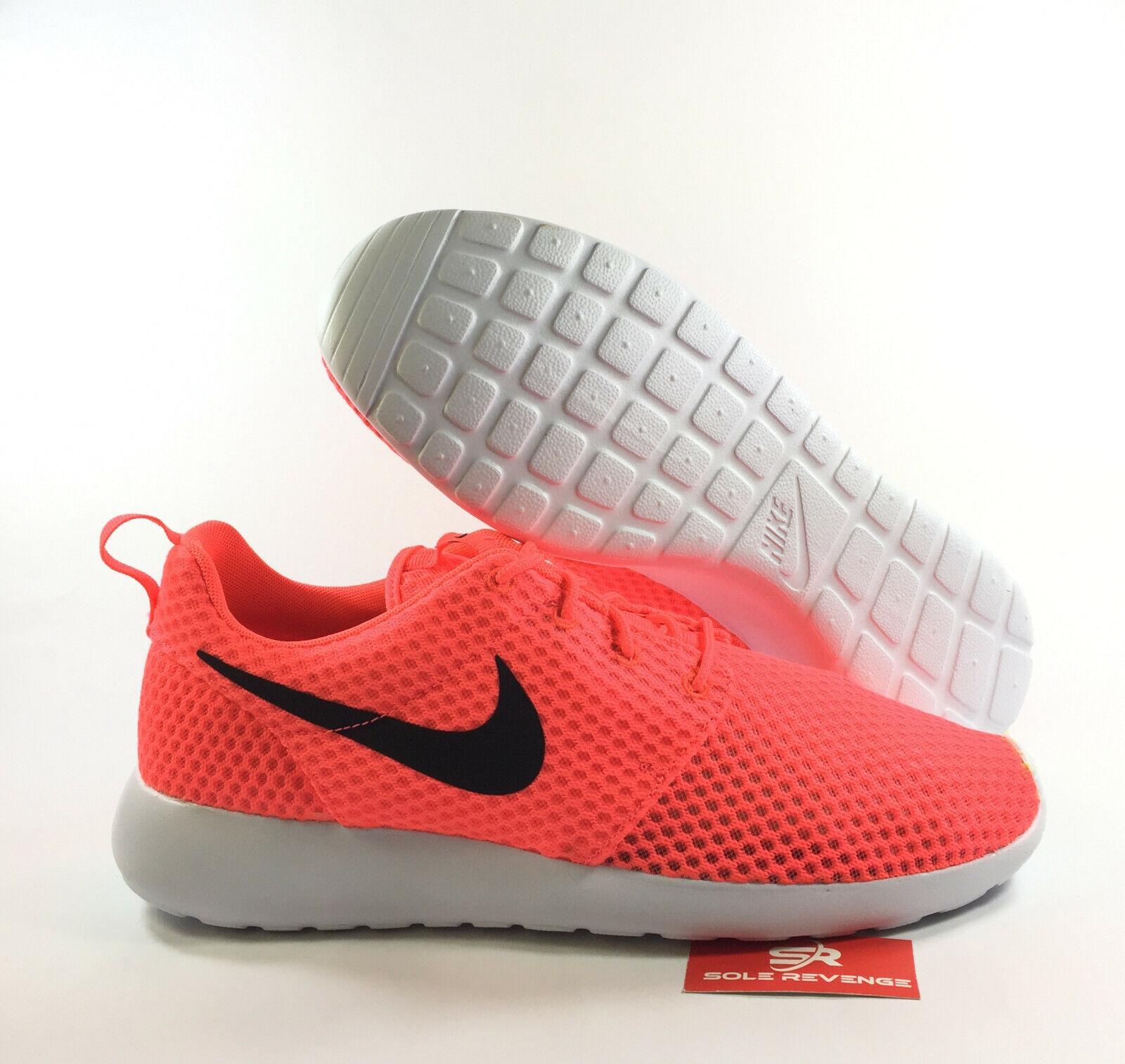 NEW 11.5 Nike Roshe One Breeze BR Run shoes shoes shoes Hot Lava Black Rosherun 718552-801 7c0f70