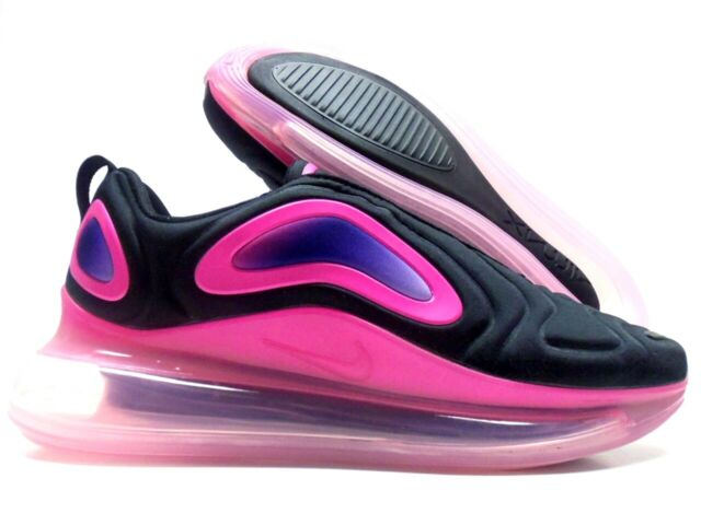 Nike Men's Air Max 720 Black/pink Blast