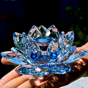 LARGE-BLUE-CRYSTAL-LOTUS-FLOWER-ORNAMENT-WITH-GIFT-BOX-CRYSTOCRAFT-HOME-DECORUK