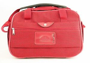 SAMSONITE-Red-Carry-On-Boarding-Bag-With-Strap-Overnight-Weekend-Luggage-17-034