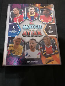 Topps Match Attax 2020-2021 Champions League Complete ...