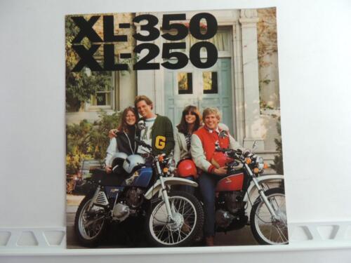 Vintage 1976 Honda XL-350 XL-250 Dealer Brochure L3813