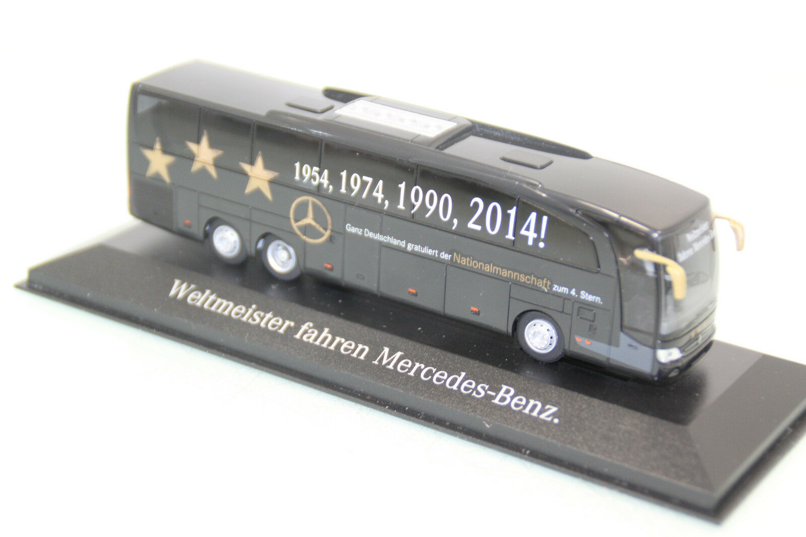 Rietze 1 87 h0 exclusivement champion du monde-Bus 2014 in neuf dans sa boîte (sl5144)