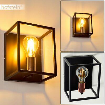 Retro Wand Lampen schwarz/rosegold Wohn Schlaf Zimmer ...