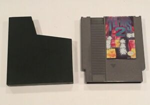 Tetris-2-Nintendo-Entertianment-System-NES-Tested-Authentic-FREE-SHIPPING