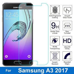 100-de-vidrio-templado-genuino-Film-Protector-de-Pantalla-Apto-para-Samsung-Galaxy-A3-2017