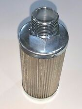 """LENZ FILTER SCREEN 3/4"""" NPT 32061 TANK PICK UP LINE CLEAN BURN CLEANABLE & OTHER"""