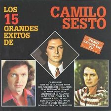 Los 15 Grandes Exitos de Camilo Sesto by Camilo Sesto (CD, May-1997, RCA)