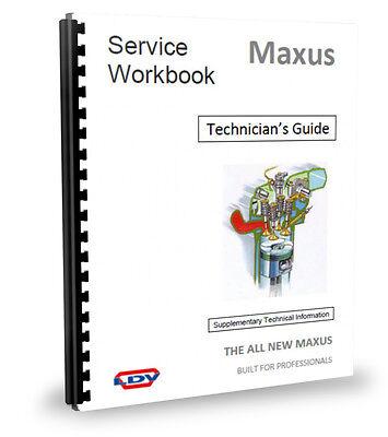 LDV Maxus Van Technicians Guide Service Manual