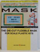 Eduard Máscara de dosel 1/32 JX019 para el Kit de MiG-15 Trumpeter