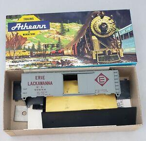 ATHEARN-ENGLISH-039-S-MODELS-3-1031-ERIE-LACKAWANNA-40-039-BOXCAR-90684-KIT-HO-SCALE