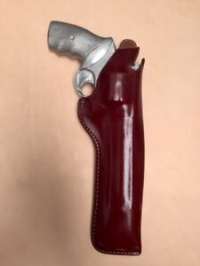 Details about Taurus 44 607 608 Leather Holster up to 8 3/8