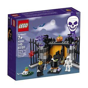 LEGO-Holiday-Halloween-40260-Halloween-Haunt-Vampire-Skeleton-New-amp-Sealed