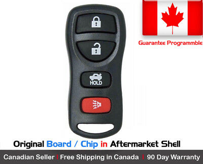 1x New Replacement Keyless Entry Remote Control Key Fob For Nissan