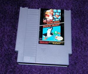 Super-Mario-Bros-Duck-Hunt-Jeu-NES-Nintendo-Cartouche-Works-Free-Ship