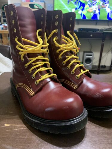 Solovair Southerner 11i Steel Toe Derby Boots Oxbl