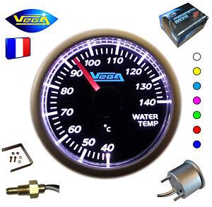► Manomètre Racing VEGA® 52mm Température 7 couleurs Tactile 40-140°C ◄