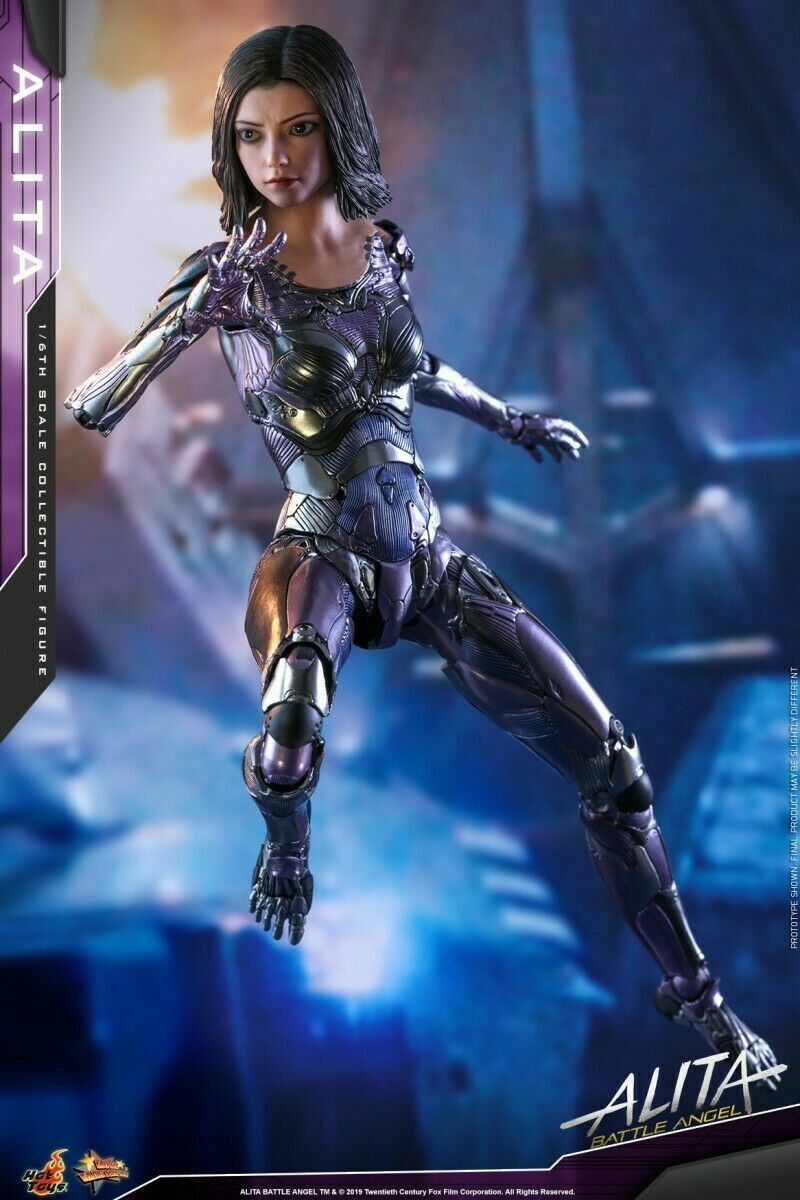 1 6 Hot Juguetes MMS520 Alita  Battle Angel Alita Figura Modelo Collection