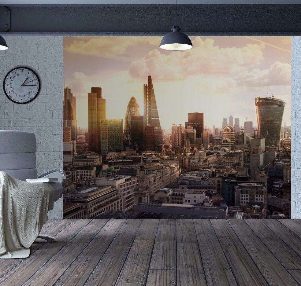 London Stadt Skyline Harlequin und Shard Tapeten Wandbild (35333282)