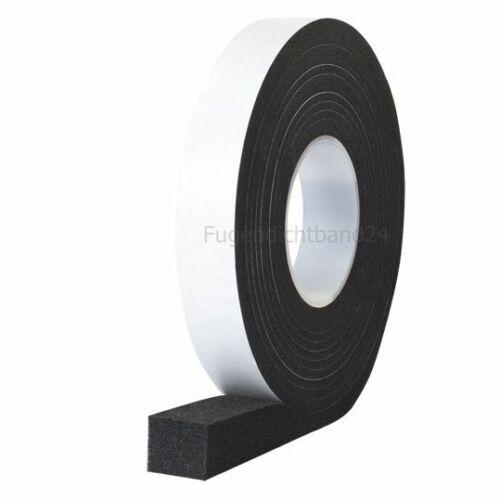 Fugenband FILL 600 30//4-9mm schwarz 8m Rolle Quellband Kompriband