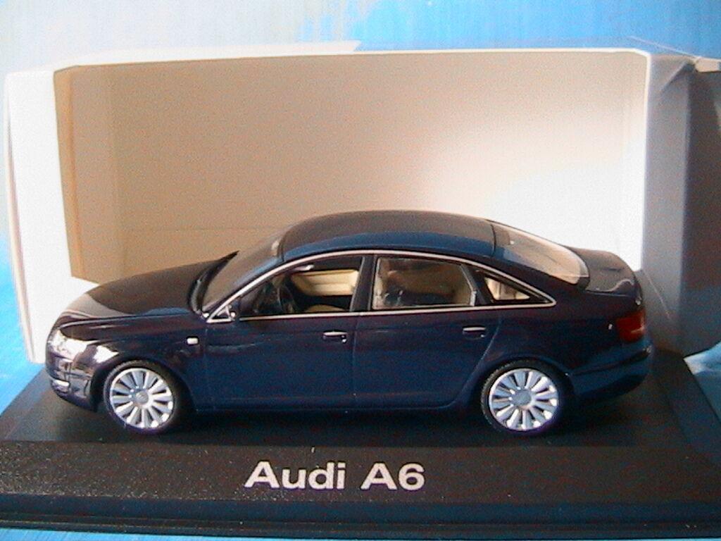 AUDI A6 3.2 QUATTRO 2004 C6 NIGHT bleu MINICHAMPS 5010406133 1 43 LIMOUSINE