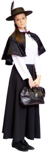 BLACK Victorian//Edwardian Bobby RAILWAY CHILDREN Costume KIDS
