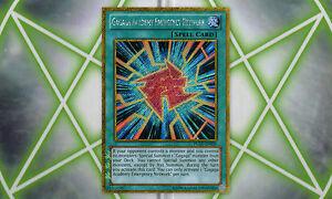 Gagaga-Academy-Emergency-Network-X2-PGLD-EN028-Gold-Secret-Rare-YuGiOh-Card-NM
