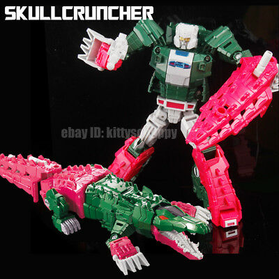 """Toys & Hobbies Kids Gift Toy Metal Parts Robot The Headmasters Skullcruncher 8"""" Action Figure Do You Want To Buy Some Chinese Native Produce? Transformers & Robots"""