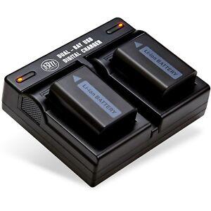BM-2X-NP-FW50-Batteries-amp-Dual-Charger-for-Sony-NEX-3-NEX-5N-NEX-5T-NEX-6-NEX-7