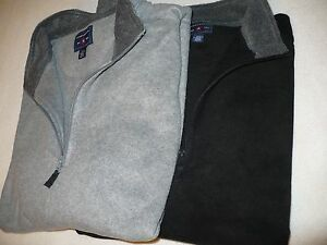 NEW NWT SADDLEBRED MEN'S BIG & TALL 1/4 ZIP FLEECE PULLOVER SIZE ...