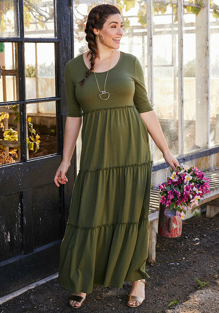 damen MATILDA JANE Brilliant daydream Brand New Day Maxi Dress Größe L Large NWT