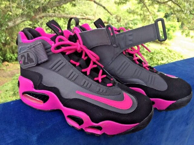 the latest 56005 fc46d NIKE AIR GRIFFEY MAX 1 Nearly New HOT PINK Basketball Girls Boys Shoes Sz  6.5 Y
