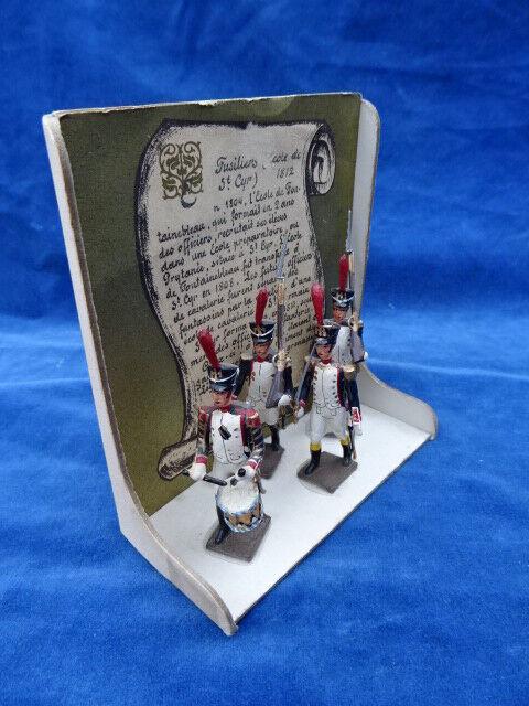 JOUET ANCIEN   Old Juguete - CBG MIGNOT - FUSILIERS ECOLE DE ST CYR 1812 1ER EMPIRE