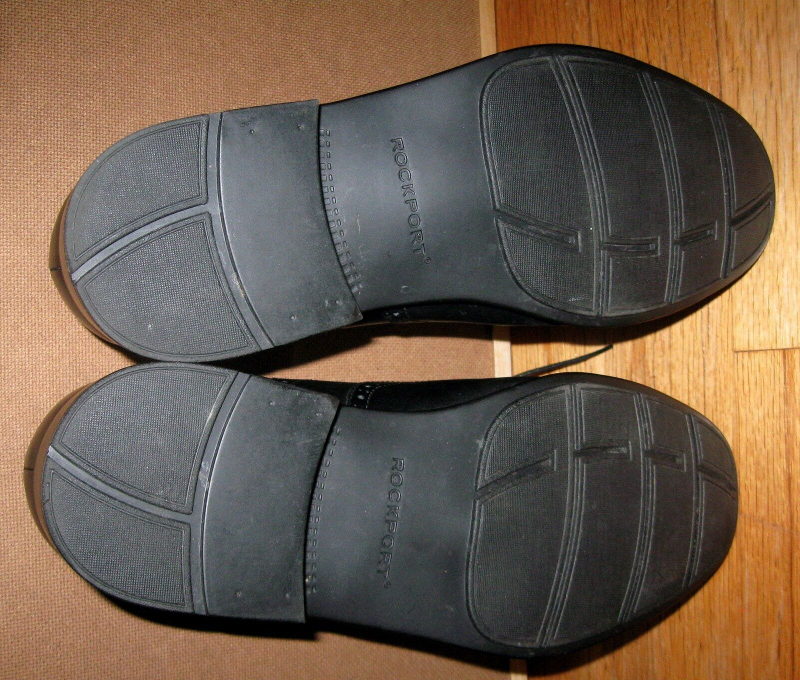 ROCKPORT  ALMARTIN ALMARTIN ALMARTIN  APM28481 herren schwarz LEATHER WINGTIP OXFORDS Größe 12 XW e24f70