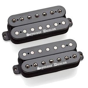 Seymour Duncan Black Winter 7 String Humbucker Set - free shipping