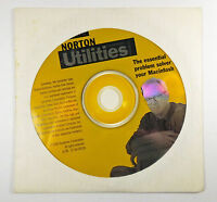 Norton Utilities 1999 Software Disk Mac Unopened Sealed