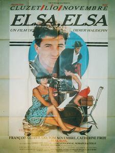 Affiche-60x80cm-ELSA-ELSA-1985-Haudepin-Christine-Pascal-Catherine-Frot