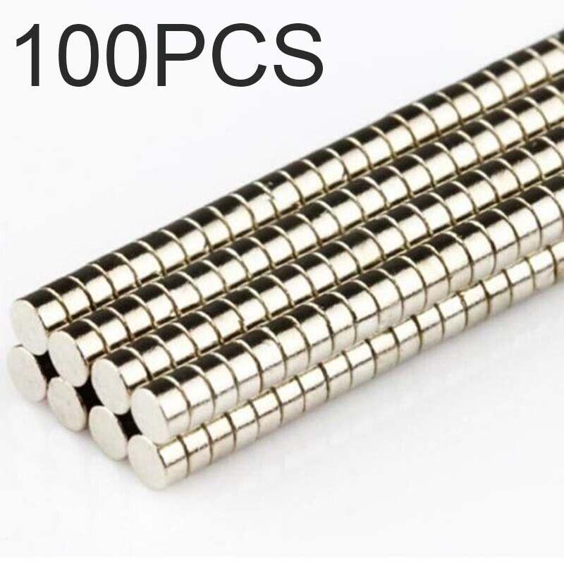 10pcs Strong Neodymium Magnets Disc Rare-Earth Fridge Magnet 12x5mm Hole4mm N50\