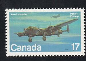 "Canada MNH 1980 Military Aircraft Avro Lancaster, sc#874i with ""signal light"""