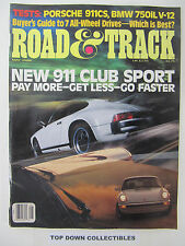 Pay Roadandtrack Com >> Road Track May 1988 Back Issue For Sale Online Ebay