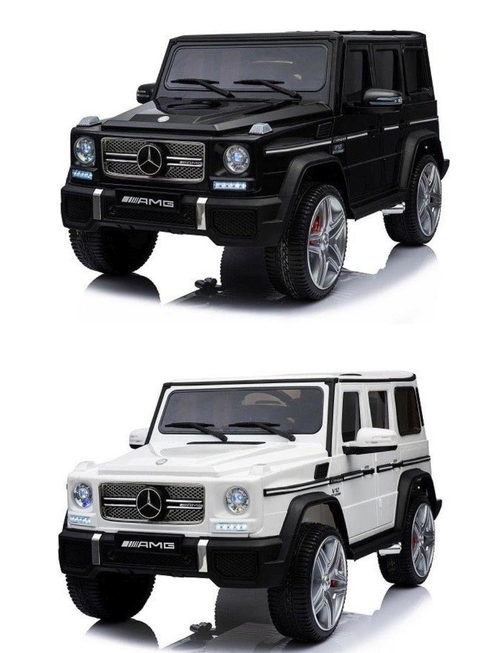 Kinder Geländewagen Mercedes Benz G65 PREMIUM XXL AMG Fernbedienung MP3 2x45W