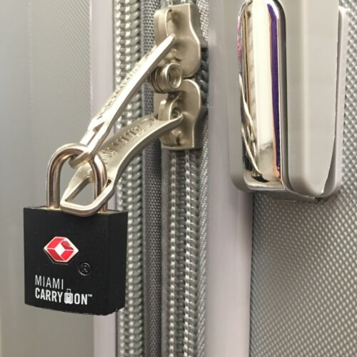 TSA Keyed Luggage Lock Dark Blue TSA Lock Miami CarryOn TSA Approved Padlock