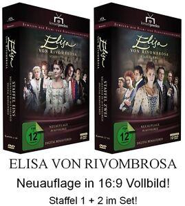 Elisa-von-Rivombrosa-Staffel-1-2-Set-di-Neuauflage-in-16-9-18-DVD-NEU-OVP