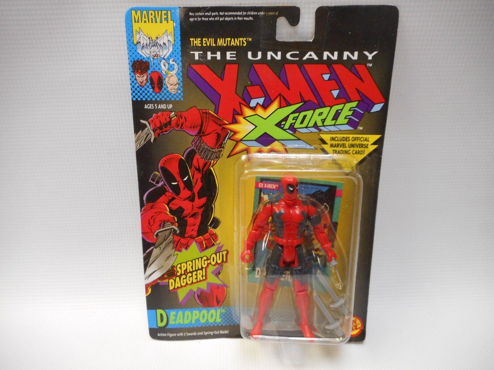 Unheimlich, x - men fr deadpool x - force action - figur aus toybiz dolch im frhjahr 1992