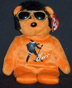 TY ELVIS BEANIE HOUSE ROCK BEANIE BABY - MINT with MINT TAG ... 44693b656d8