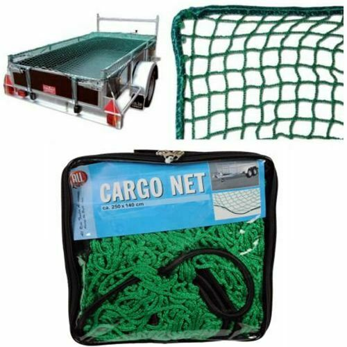 Universal Coche Organizador de Equipaje de almacenamiento remolque elástica Green Cargo Net