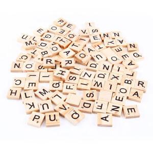 100-pezzi-tasselli-lettere-legno-Scarabeo-decorazioni-personalizzate-scrapbook