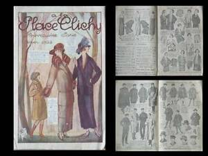 Site Officiel Catalogue A La Place De Clichy - Mode - Hiver 1923 - Paris